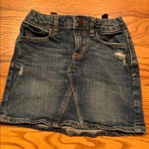 GapKids US size 6 kids jean skirt